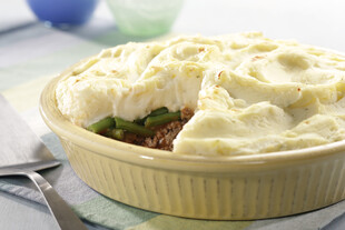 Shepherd's Pie with Instant Mashed Idaho® Potato Topping
