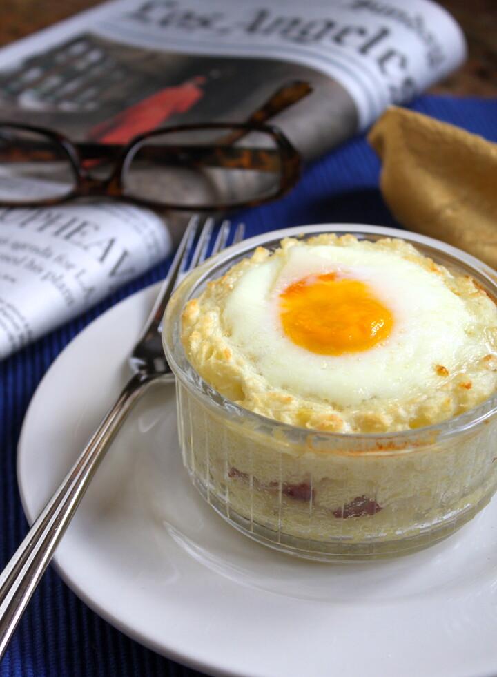 Idaho® Potato Baked Breakfast Cups with Bacon