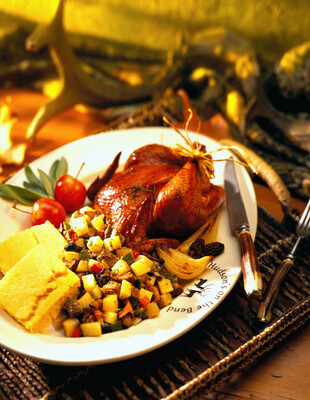 Stuffing with Idaho® Potatoes And Wild Mushroom And Country Pate