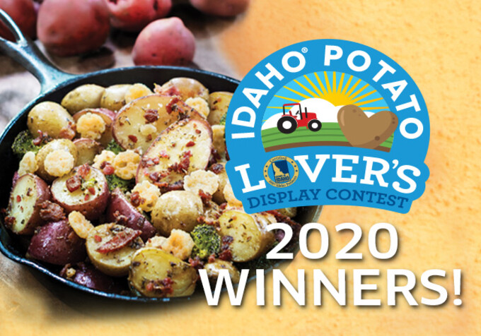 2020 Idaho® Potato Lover's Display Contest Winners
