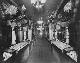 Potatoes on Train