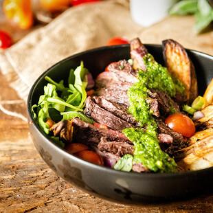 Grilled Chimichurri Steak Idaho® Potato Power Bowl