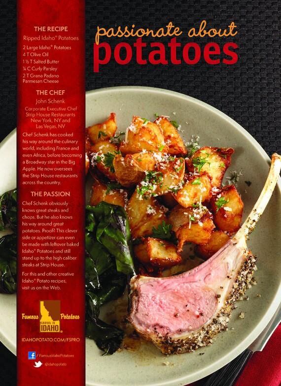 Ripped Idaho® Potatoes