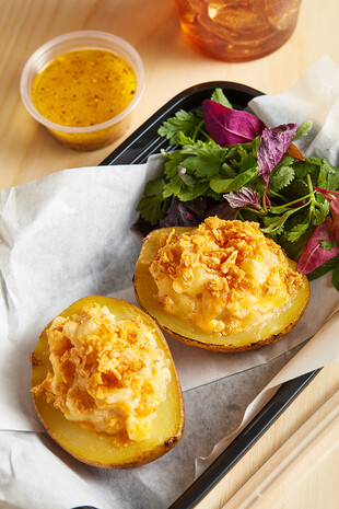 Thrice-Baked Cheesy Potatoes
