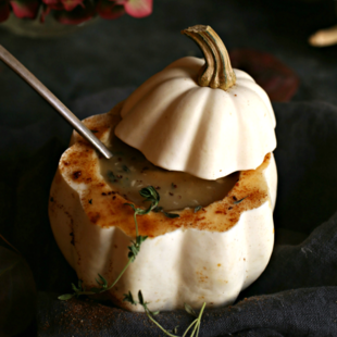 Potato and Acorn Squash Soup