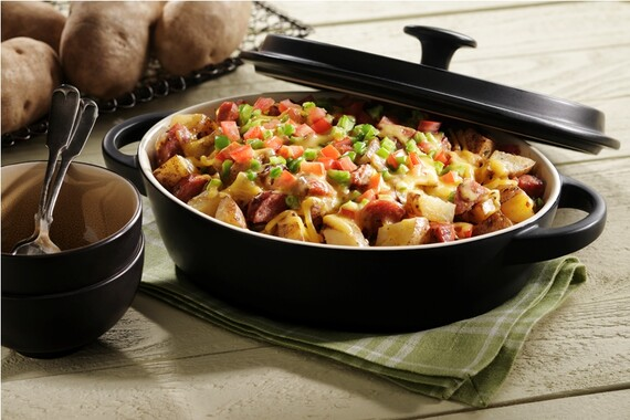 Block and Tackle Idaho® Potato Casserole