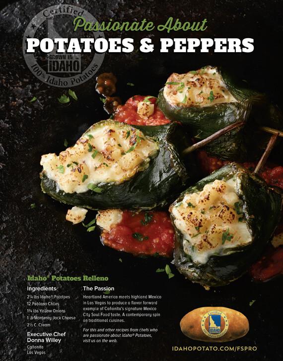 Idaho® Potatoes Relleno