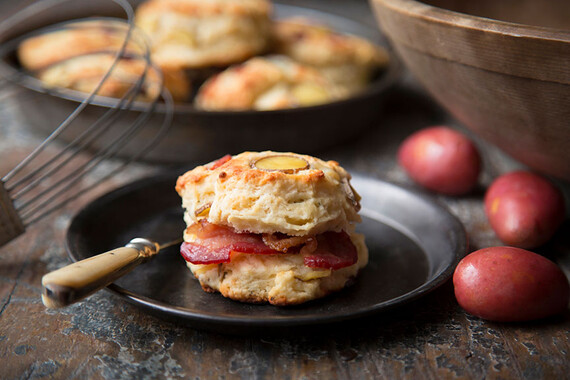 Idaho® Potato, Bacon and Gorgonzola Scones
