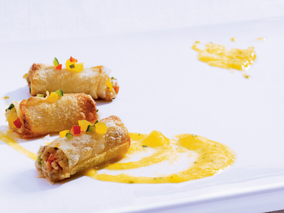 Idaho® Potato and Black Bass Taquitos