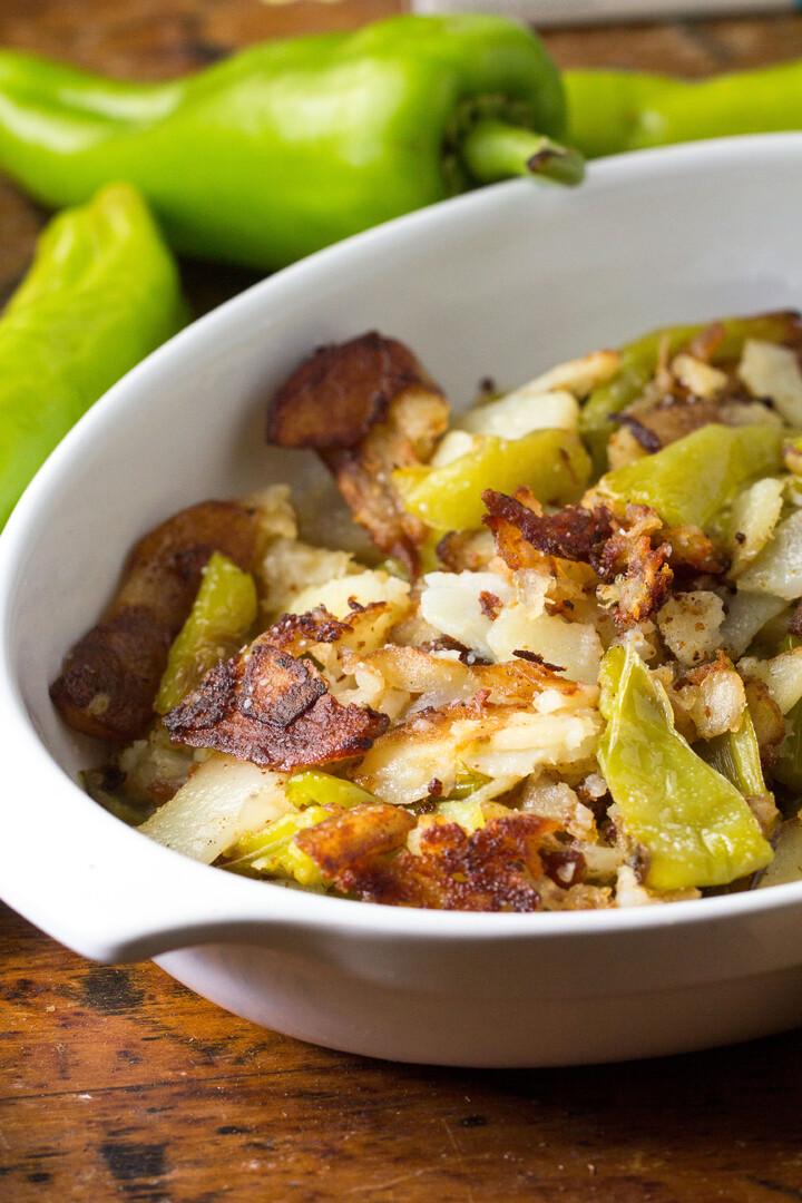 Italian Crispy Fried Idaho® Potatoes and Peppers