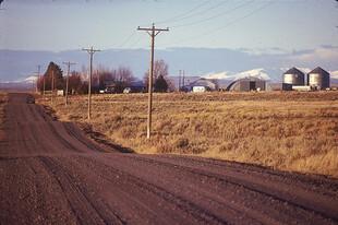 Road in Eastern Idaho