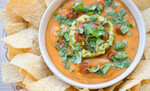 Vegan Torchy's Queso Copycat made with Idaho® Potatoes