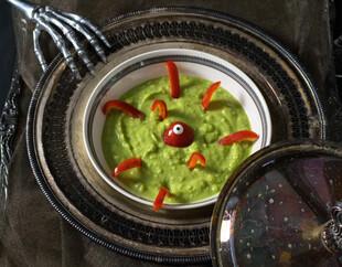 Spooky Potato Soup