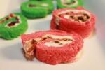 Red or Green Idaho® Potato Bread Pinwheels