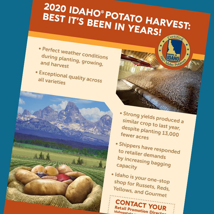 2020 Potato Harvest