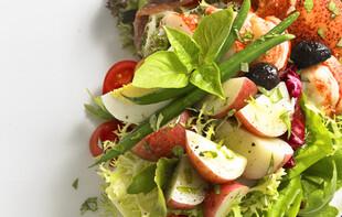 Lobster and Idaho® Potato Nicoise Salad