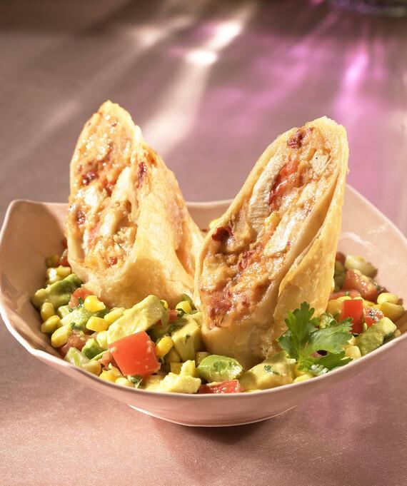 Chipotle Mashed Idaho® Potato & Chicken Flautas