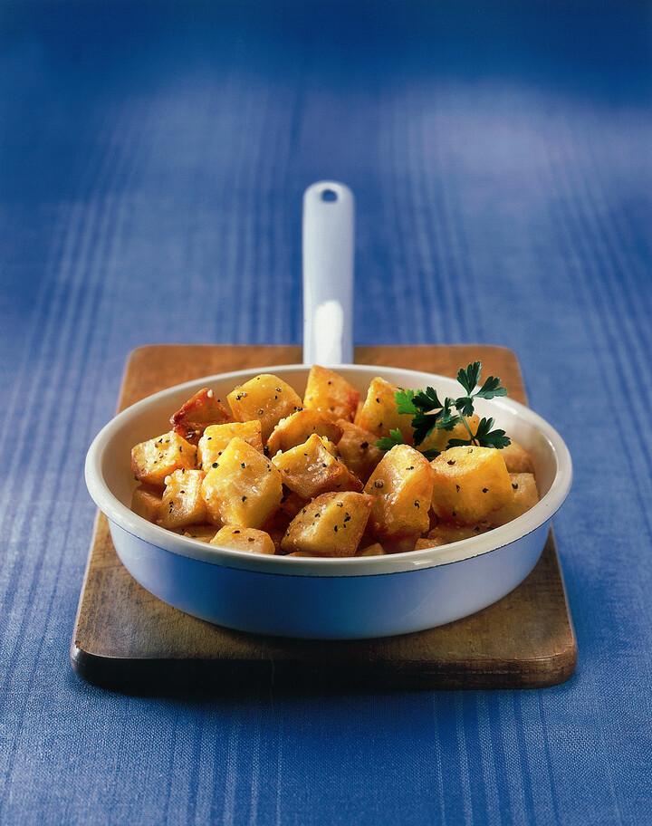 Garlic Fried Potatoes