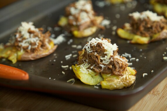 Mexican Poutine Smashers with Barbacoa