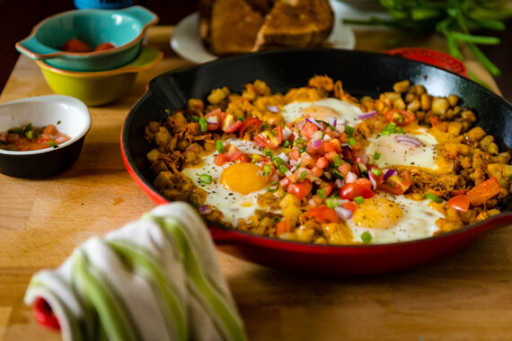 Spicy Chipotle Breakfast Idaho® Potato Hash Browns