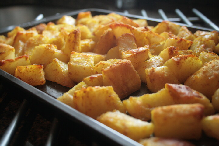 Classic Idaho® Russet Twice Baked Curried Potatoes