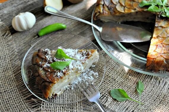 Crispy Skillet Idaho® Potato Cake