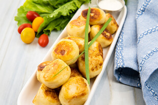Idaho® Potato Dumplings with Litehouse® Ranch Sauce
