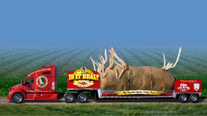 Big Idaho® Potato Truck Grows Tree Size Sprouts During Time Off From Tour