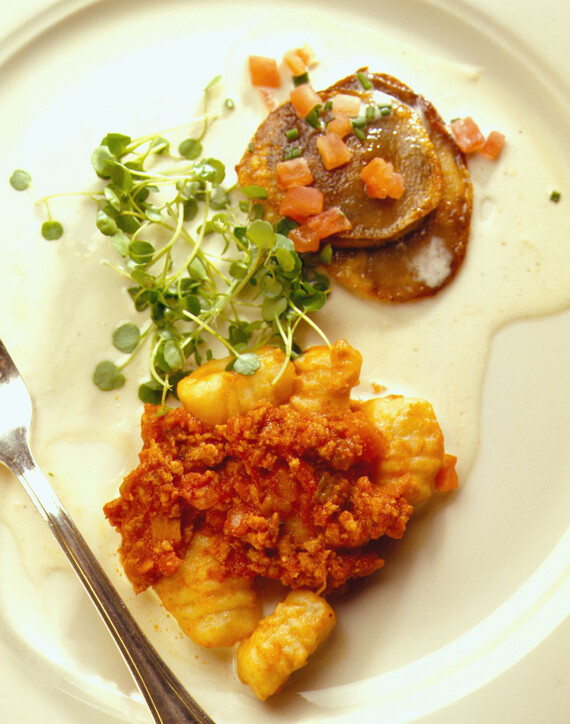 Homemade Idaho® Potato Gnocchi - Bolognese