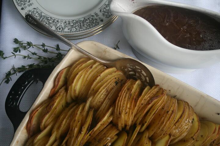 Crispy Yellow Idaho® Potato Roast