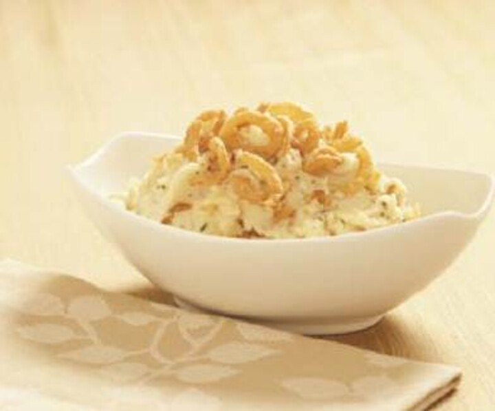 Fresh Gourmet's Crispy Onion Ranch Mashed Potatoes