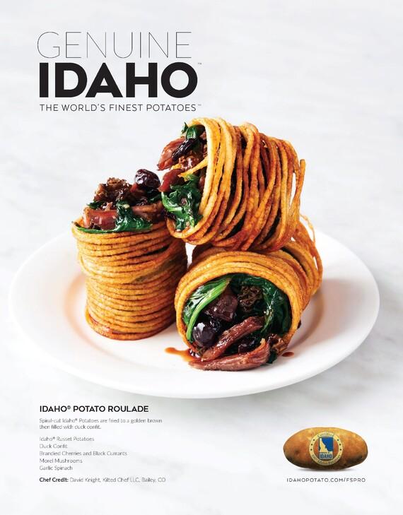Idaho® Potato Roulade