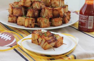 Bacon Parmesan Idaho® Potato Pavé Squares