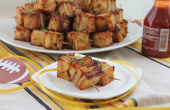 Bacon Parmesan Idaho® Potato Pavé Squares