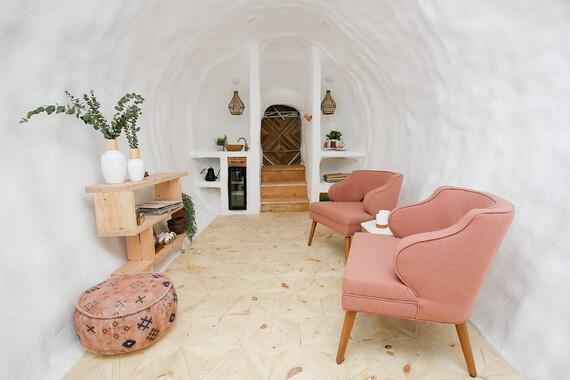Potato Hotel Interior Living Space