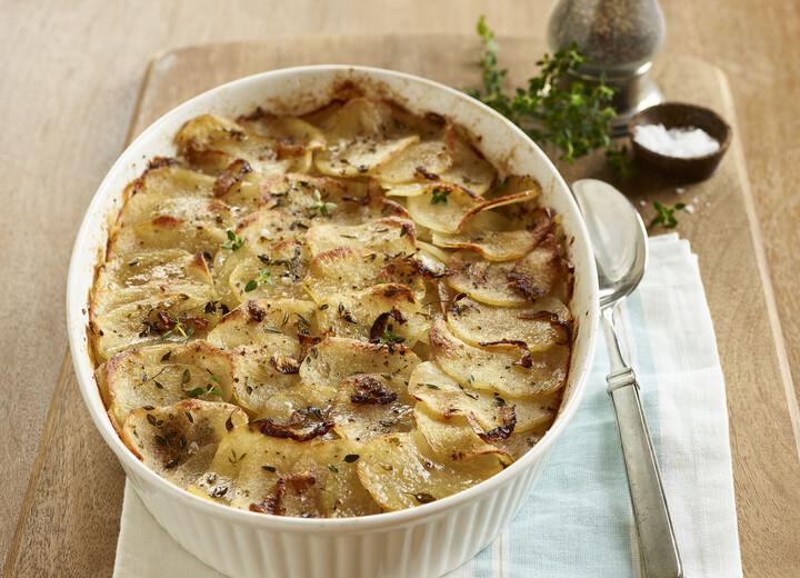 Idaho® Potatoes Boulangère