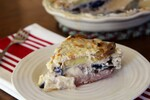 Roasted Idaho® Fingerling Pie with Sausage and Cheddar