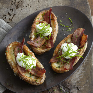Idaho® Potato Baked Potato Pork Belly Pastrami