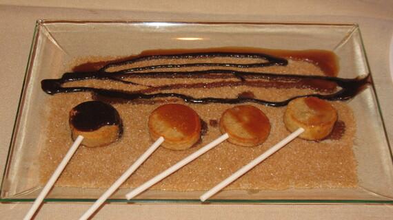 Idaho® Potato Lollipops (sweet version)