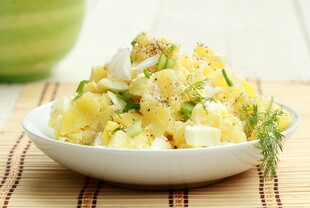 Heart-Healthy Idaho® Potato Salad