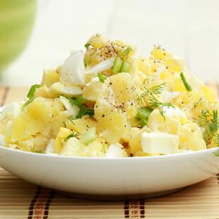 Heart-Healthy Idaho® Potato Salad