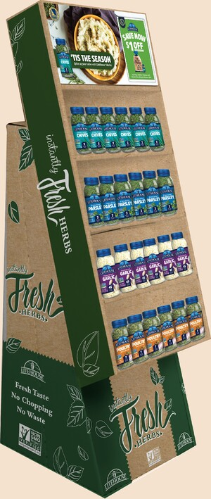 Side by Side: New Holiday Promo Mashes Up Idaho® Potatoes, Litehouse® Herbs