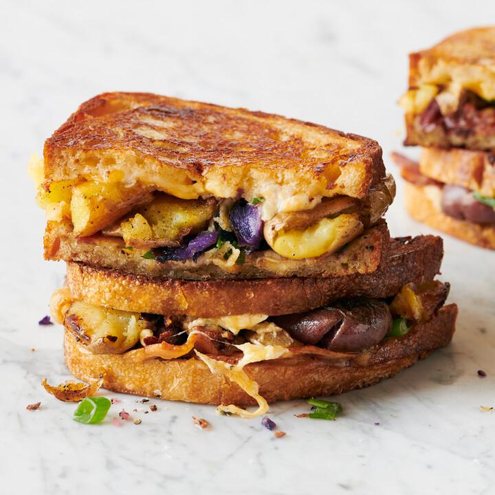 Idaho® Potato Medley Grilled Cheese