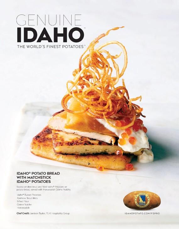 Idaho® Potato Bread with Matchstick Idaho® Potatoes