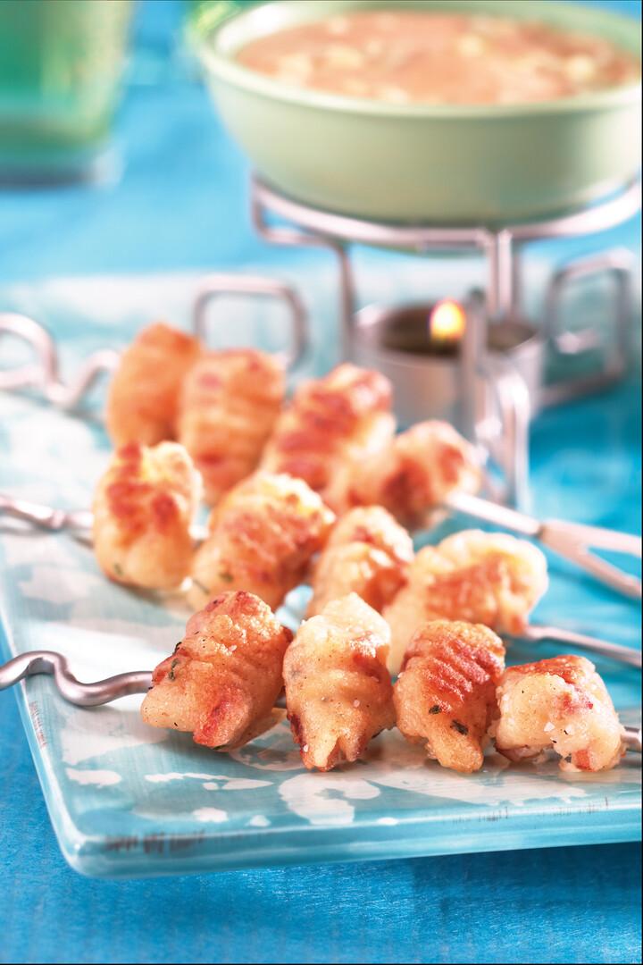 Fully Loaded Idaho® Potato Gnocchi Fritti
