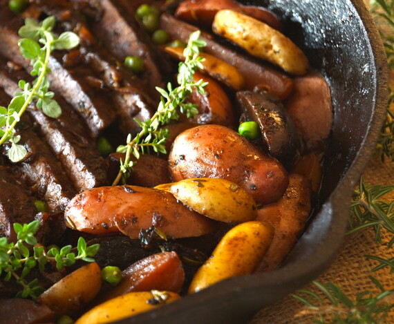Idaho® Fingerling Potato Braised Brisket Stew