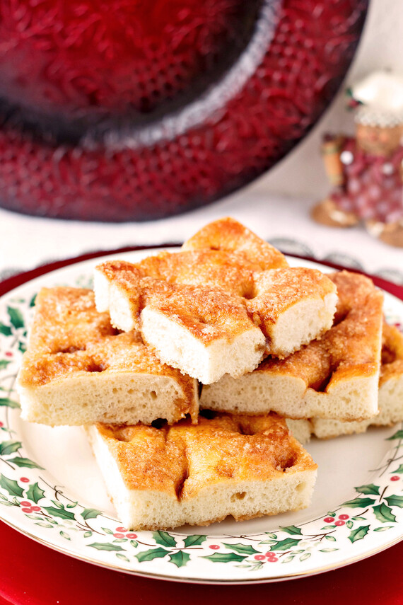 Traditional Moravian Sugar Cake with Idaho® Potatoes