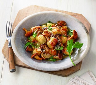 Butchertown Gnocchi with Wild Mushrooms