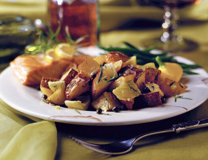 Roasted Potato & Fennel Salad