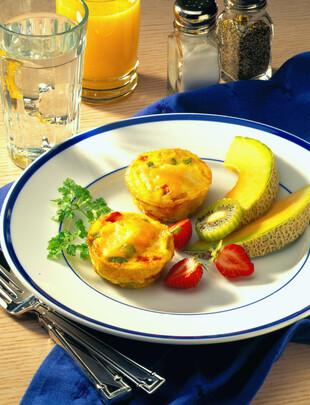 Idaho® Potato and Pepper Frittata